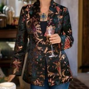 Soft Surroundings Moon Dynasty Kimono Jacket L
